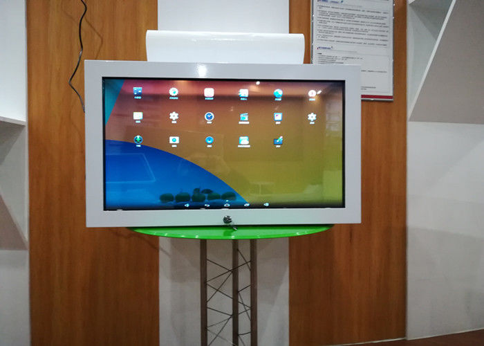 32 Inch Transparent Lcd Display Commodity Displaying Cabinet Case One Sided